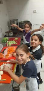 Kinderen die koken